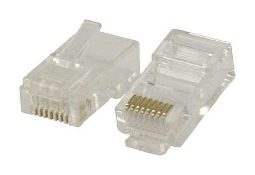 CONECTOR 1 x RJ-45, VLCP89304T 8P-8C MODULAR ETHERNET UTP NIVEL 6