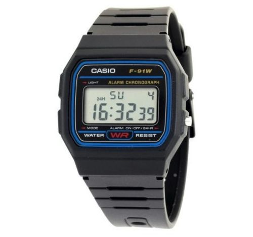 RELOJ CASIO F-91W DIGITAL LCD