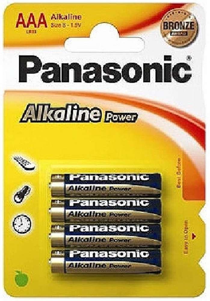 67cc89ec2 PILAS ALCALINAS PANASONIC 4 x LR03 (AAA) - HINELCO.ES